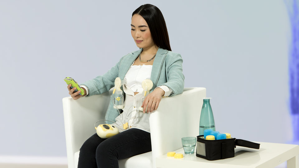 madela hands free breast pump